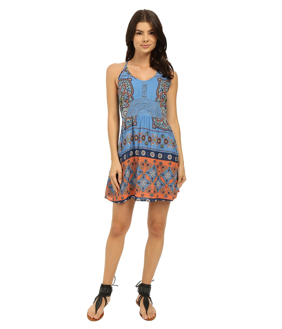 Roxy Dance to the Beat Dress Agadir Border/Morning Sky Womens Dress