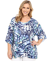 Nally & Millie - Plus Size Butterfly Top