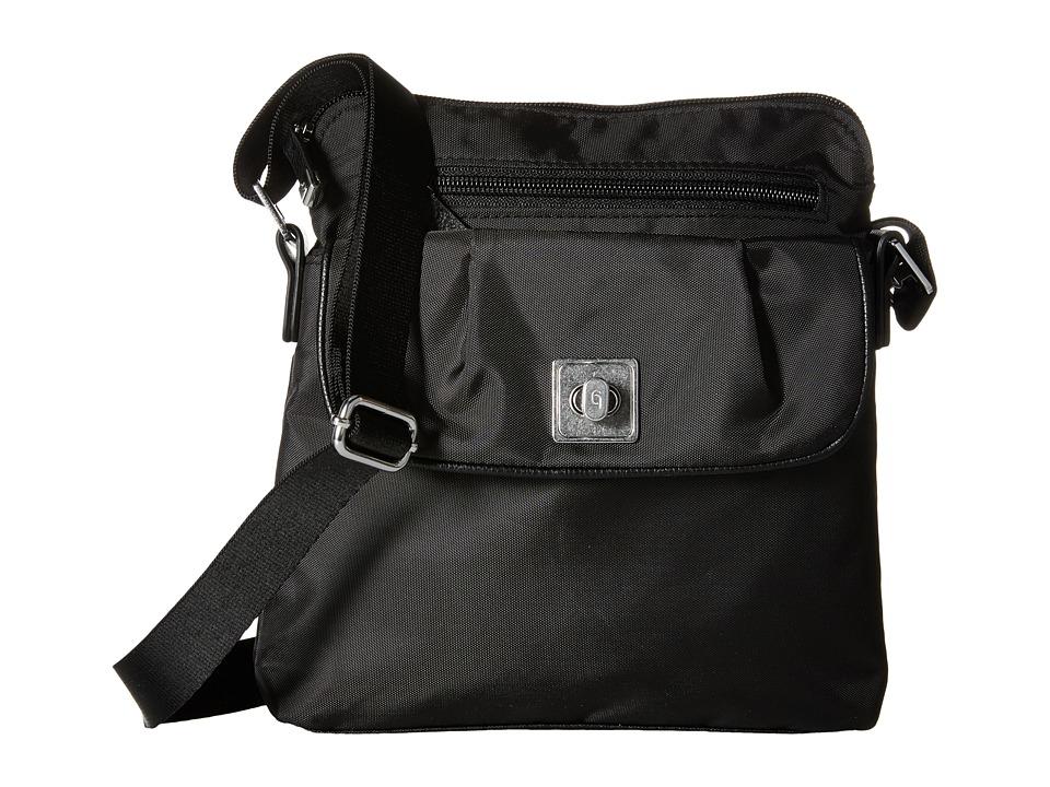 Baggallini - Dilly Dally Crossbody (Raven) Cross Body Handbags