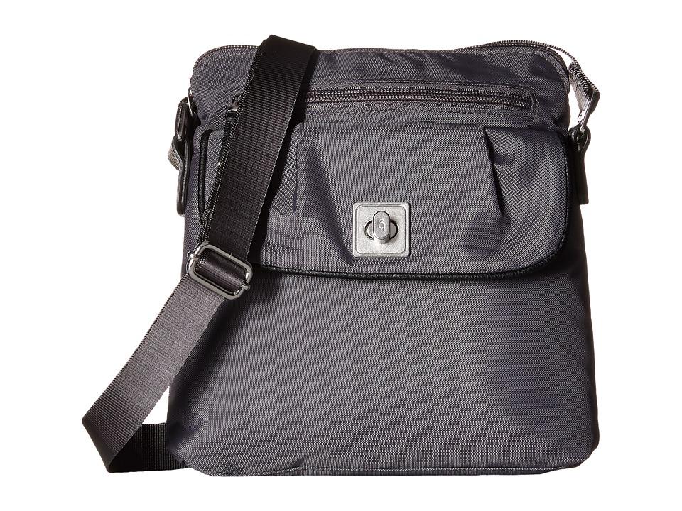 Baggallini - Dilly Dally Crossbody (Pewter) Cross Body Handbags