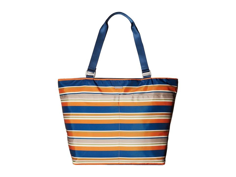 Baggallini Carryall Tote Pacific Stripe Tote Handbags