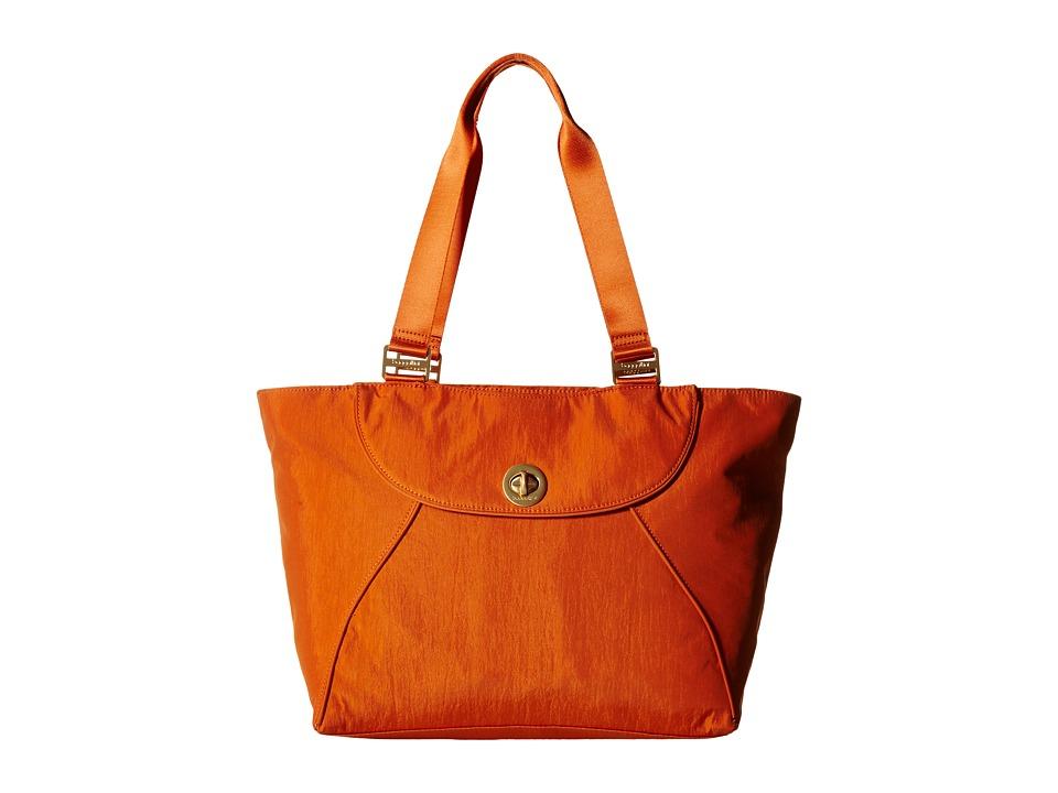 Baggallini Gold Alberta Tote Papaya Tote Handbags