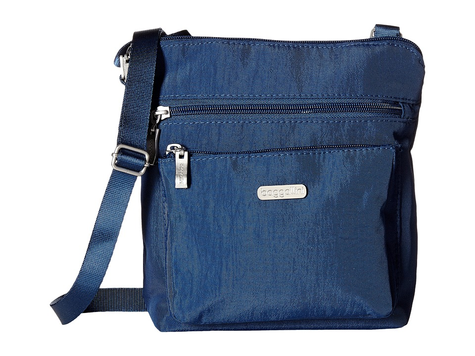 Baggallini - Pocket Crossbody (Pacific) Cross Body Handbags