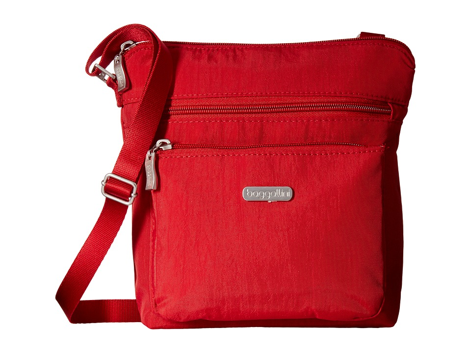 Baggallini - Pocket Crossbody (Apple) Cross Body Handbags