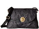 Baggallini Gold Nassau Crossbody (Pewter Floral)
