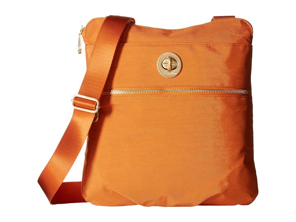 Baggallini Gold Hanover Crossbody Papaya Cross Body Handbags