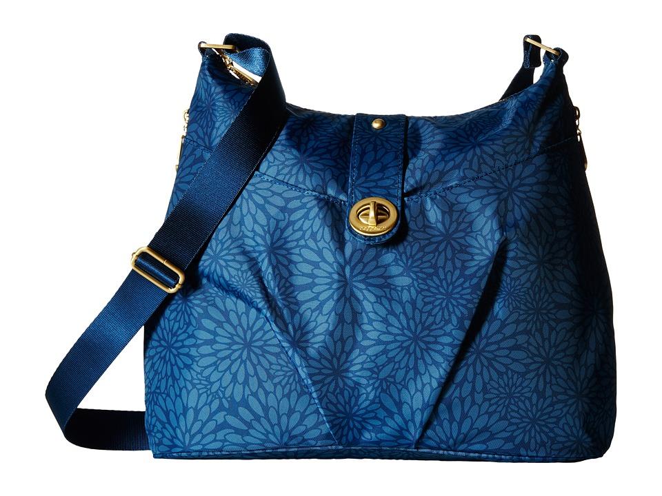 Baggallini Gold Helsinki Bag Pacific Floral Handbags