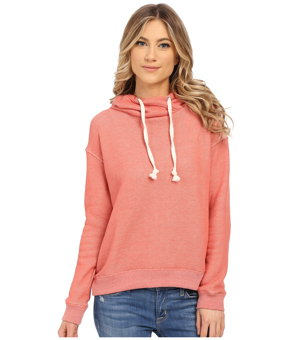 Roxy Apollo Bay Hoodie Faded Rose Womens Sweatshirt