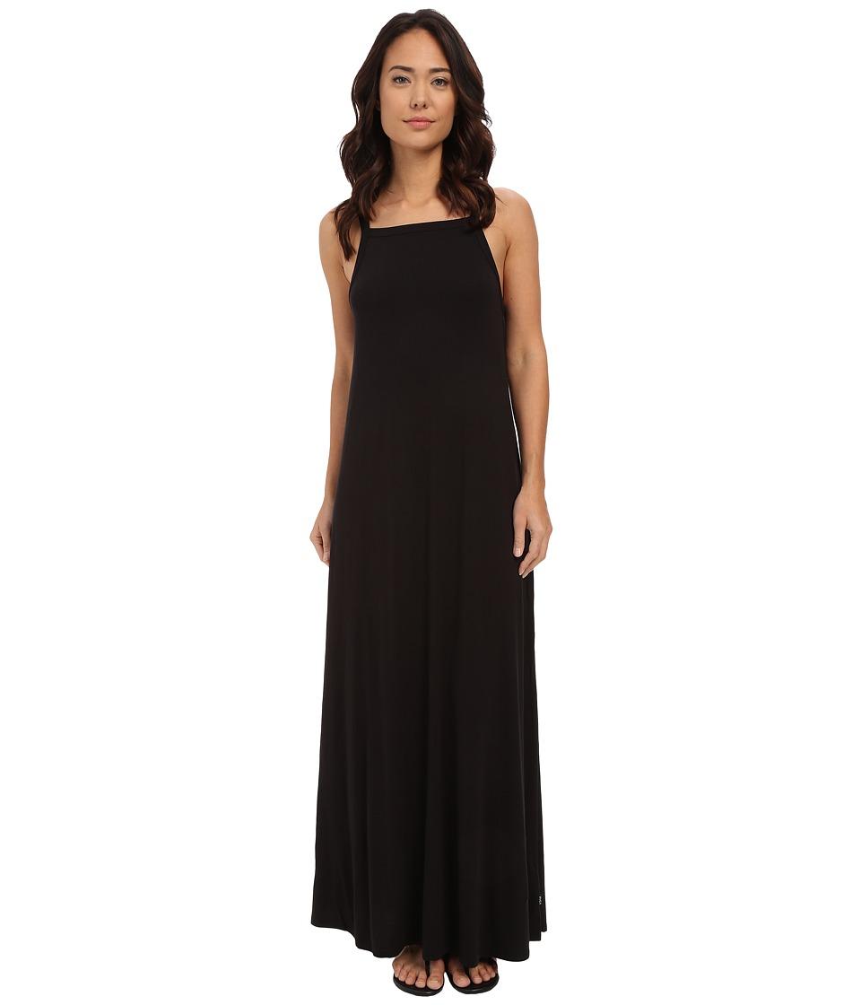 RVCA Burglary Dress Black Womens Dress
