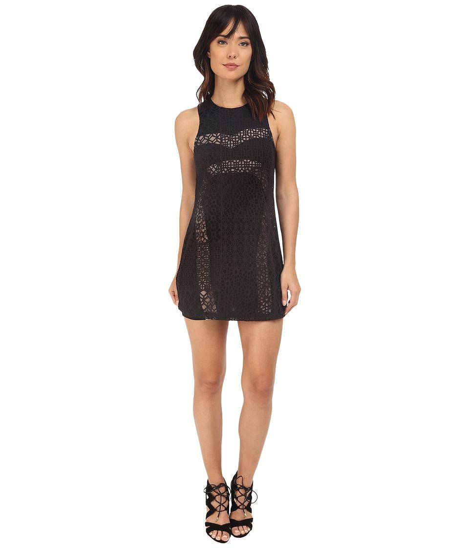 RVCA Tell Me Lies Dress Black Womens Dress