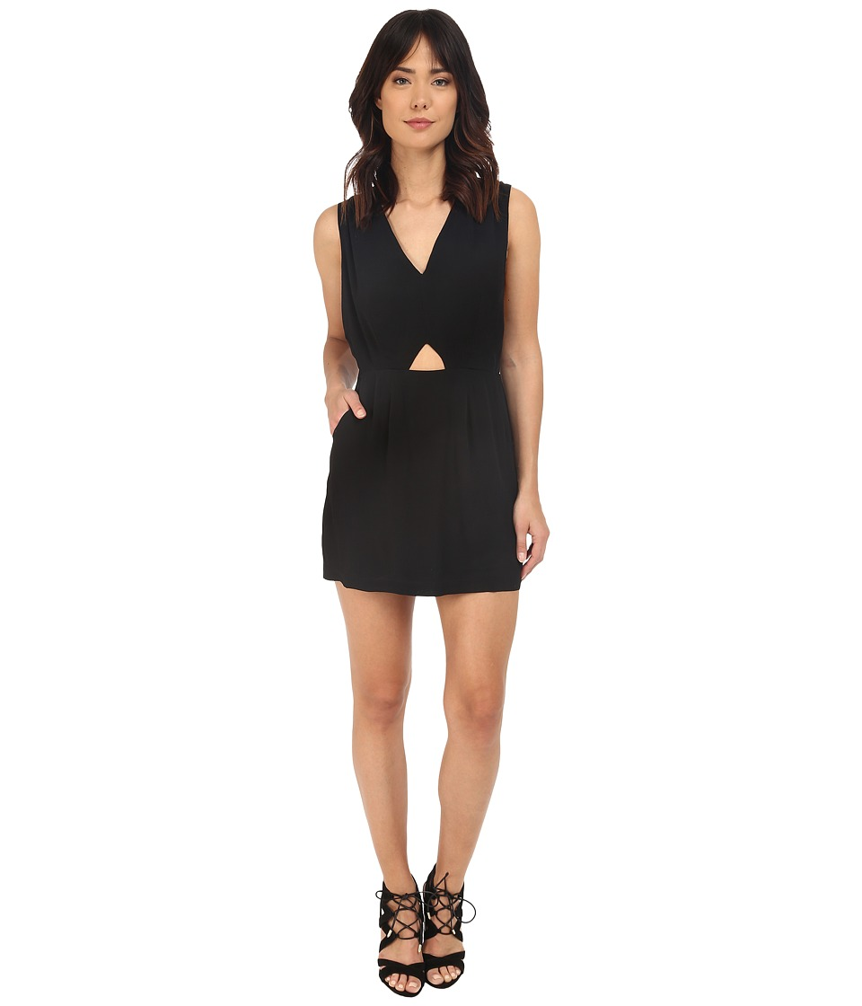 RVCA Meecrow Dress Black Womens Dress