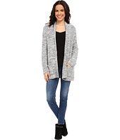 Bobeau - Textured Cardigan