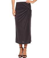Bobeau - Side Knot Midi Skirt