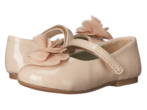 Pazitos Silk Rose MJ PU (Toddler/Little Kid) - Au Natural