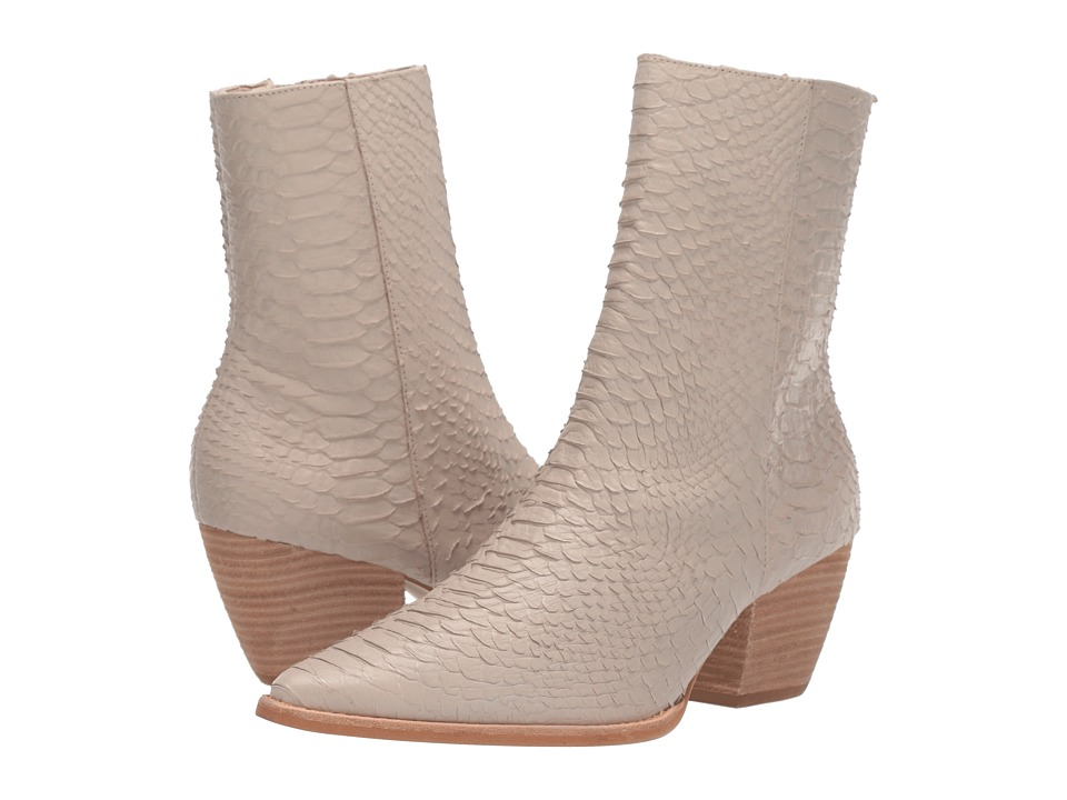 Matisse Caty Ivory Womens Zip Boots