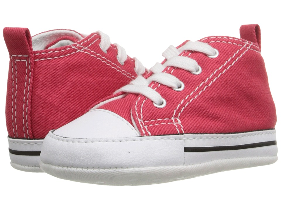 Converse Kids Ctas First Star (Infant/Toddler) (Red) Kid's Shoes