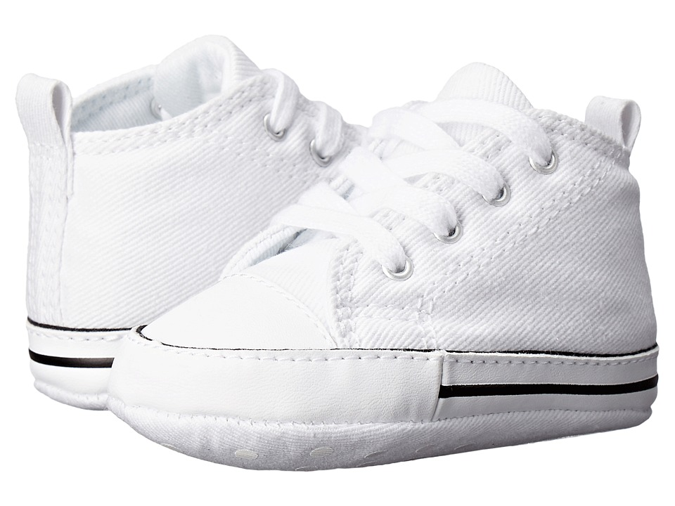 Converse Kids Ctas First Star (Infant/Toddler) (White) Kid