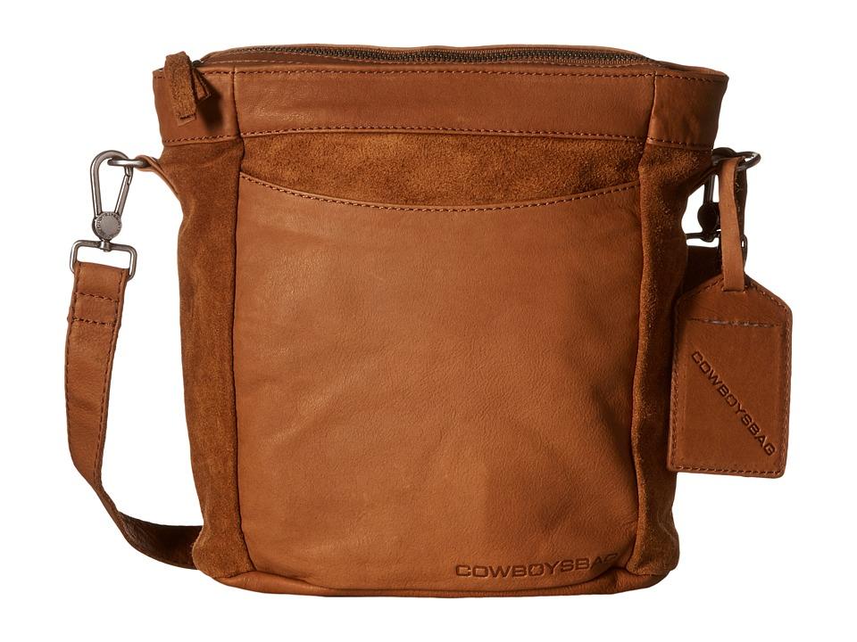 COWBOYSBELT Eastleigh Chestnut Cross Body Handbags