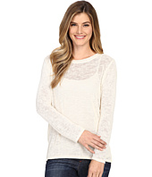 Nally & Millie - Long Sleeve High-Low Sweater Top