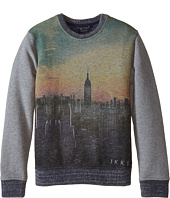 IKKS - NYC Skyline Graphic Sweatshirt (Little Kids/Big Kids)