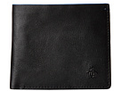 Original Penguin Leather Bi-Fold Wallet (Black)