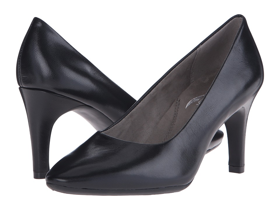 Aerosoles Exquisite (Black Leather) High Heels