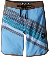VISSLA Kids - Drain Pipes 4-Way Stretch Boardshorts 17