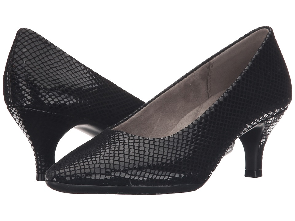 Aerosoles - Stardom (Black Snake) High Heels