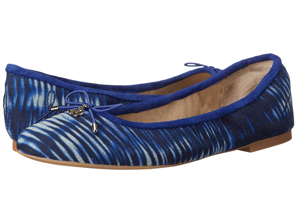 Sam Edelman Felicia (Indigo Blue Tie-Dye Fabric) Women