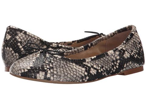 Sam Edelman Felicia - Putty Shiny Burmese Python Print