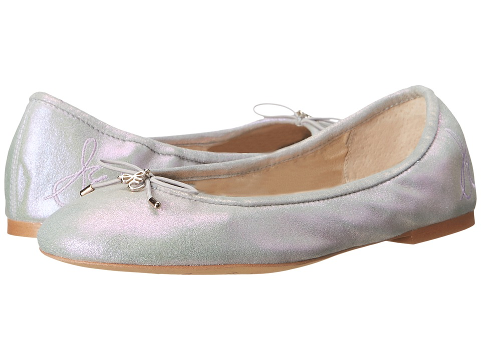 Sam Edelman Felicia Iridescent Iridescent Suede Leather Womens Flat Shoes