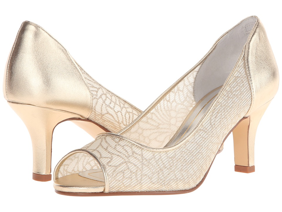 Caparros Bettina Gold Mesh Womens Shoes