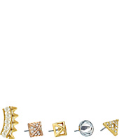 Rebecca Minkoff - Five-Piece Set - Triangle/Climber/Inverted/Pyramid Earrings
