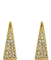 Rebecca Minkoff - Triangle Pave Ear Climbers Earrings