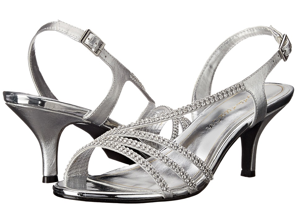 Caparros Bethany Silver Metallic Womens Shoes