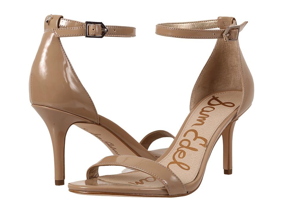 Sam Edelman Patti Strappy Sandal Heel (Classic Nude Patent) High Heels