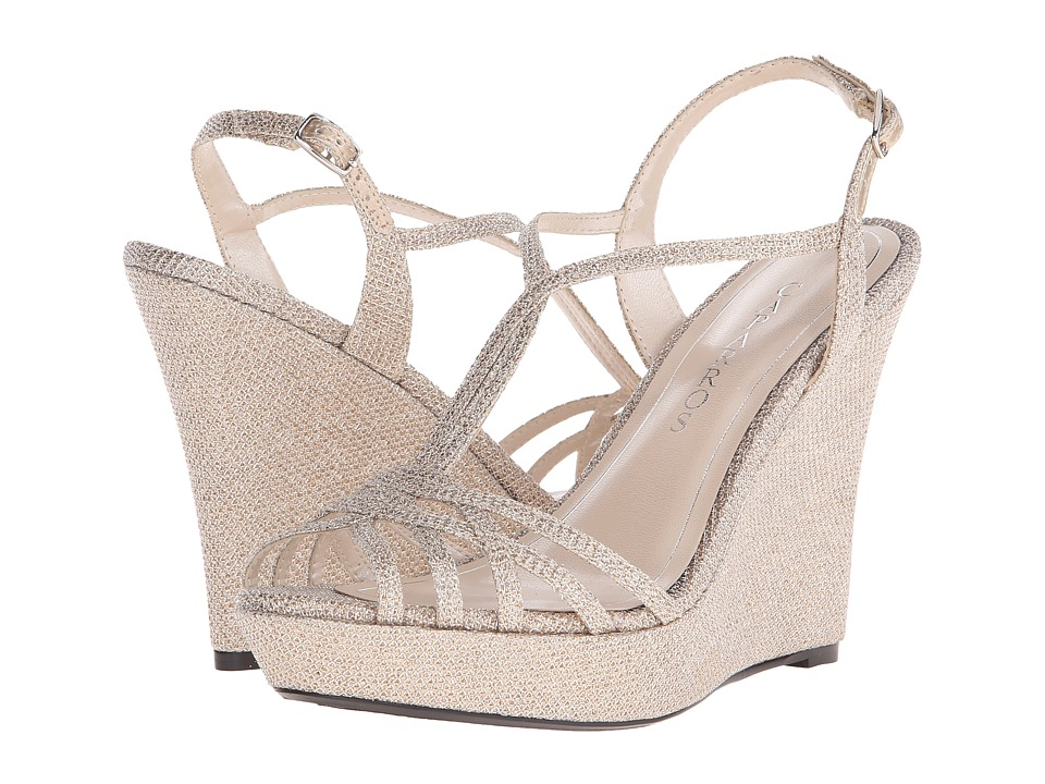 Caparros Bristol Nude Sparkle Womens Shoes