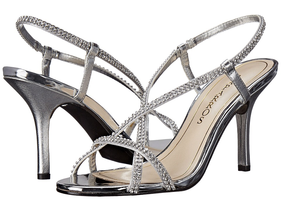 Caparros Bianca Silver Metallic Womens Shoes