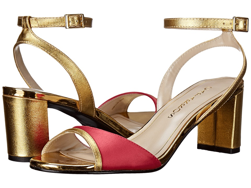 Caparros Belize Hibiscus/Gold Sateen Womens Shoes