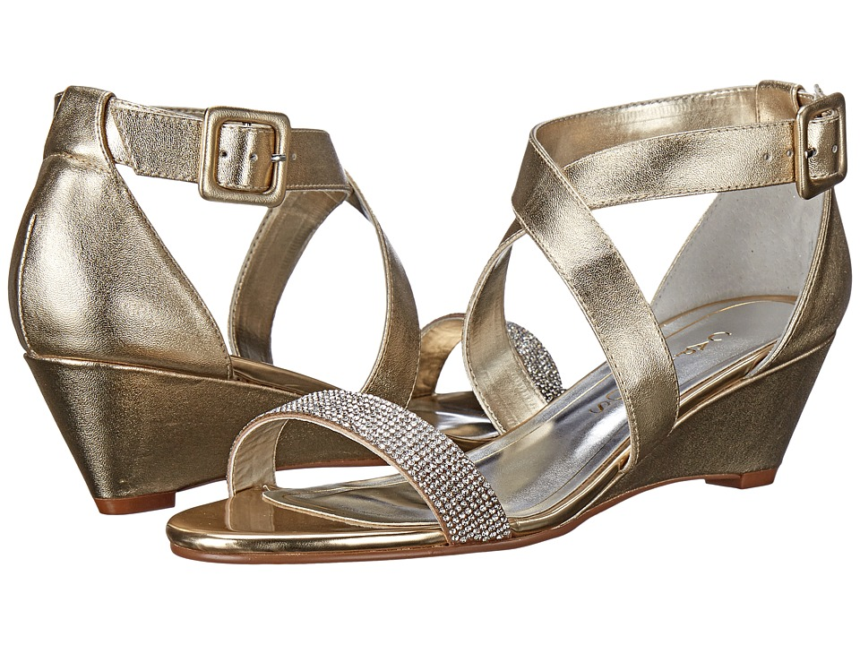 Caparros Blair Gold Metallic Womens Shoes