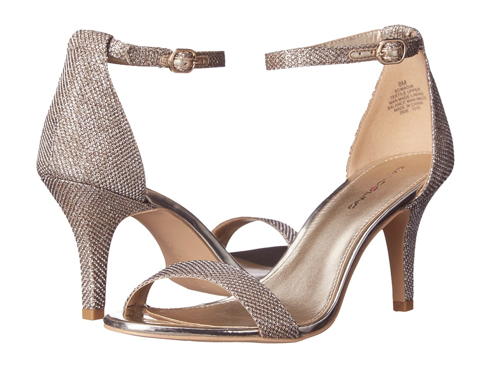 Bandolino Madia (Gold Fabric) High Heels