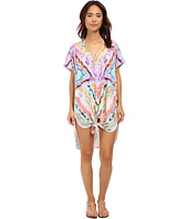 Mara Hoffman - Rainbow Shirt Tie Dress