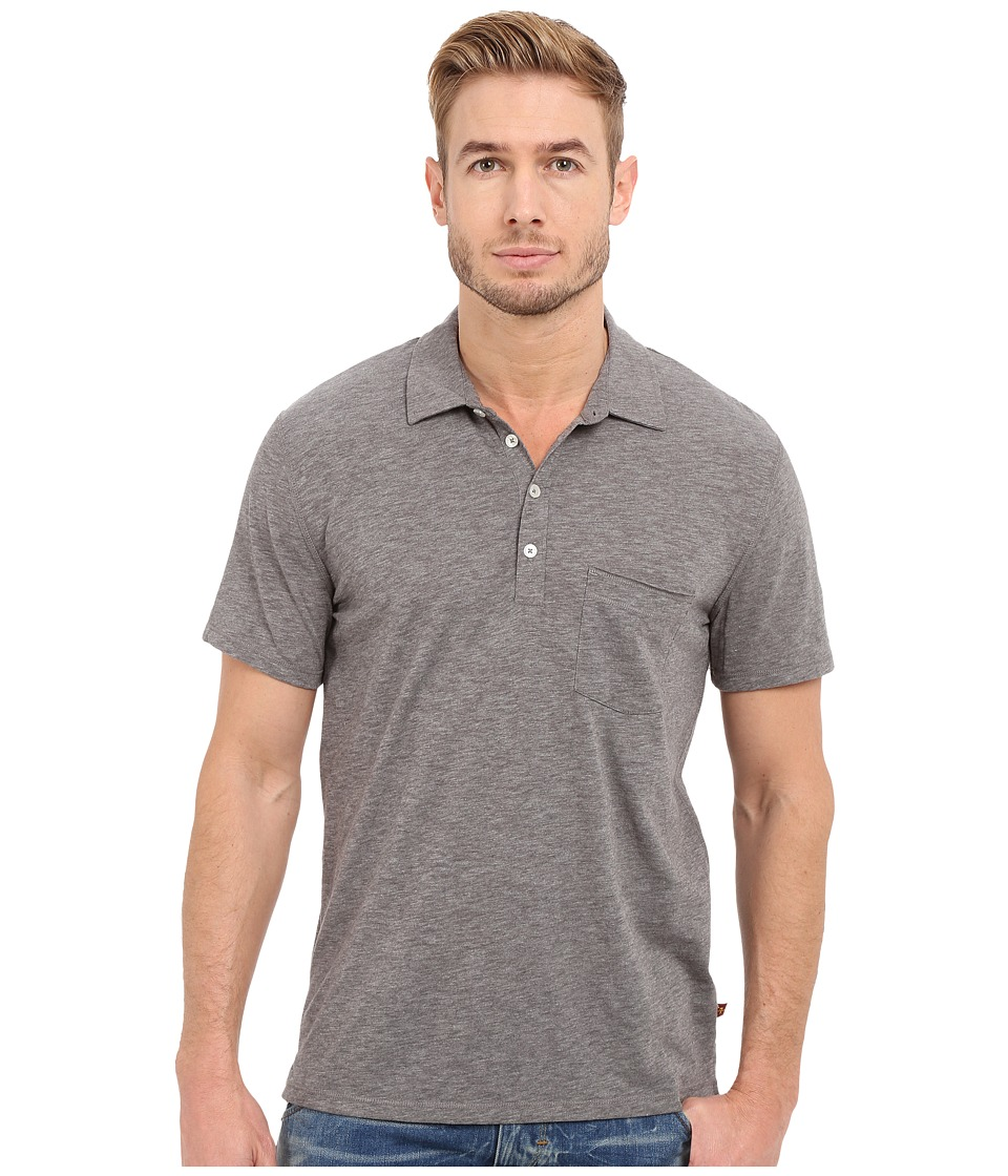 7 For All Mankind - Short Sleeve Raw Placket Polo