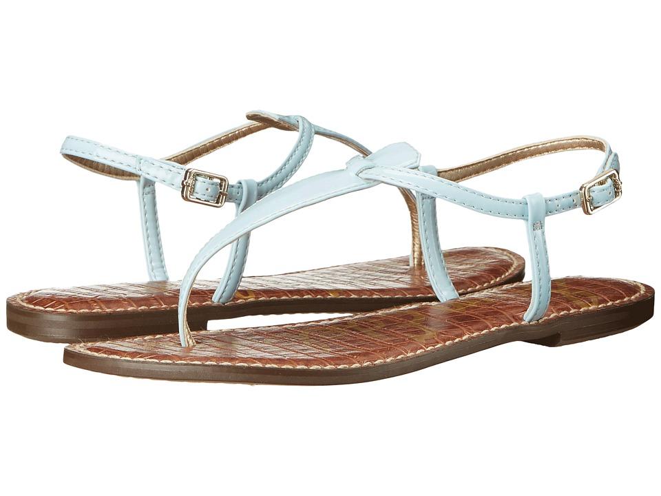 Sam Edelman Gigi (Eggshell Blue Patent) Sandals