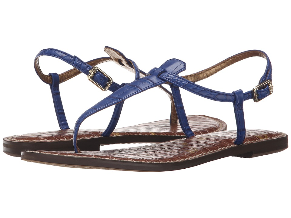 Sam Edelman Gigi (Sailor Blue Nile Croco) Sandals