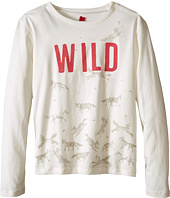 IKKS - Wild Horse Print Long Sleeve Tee (Little Kids/Big Kids)