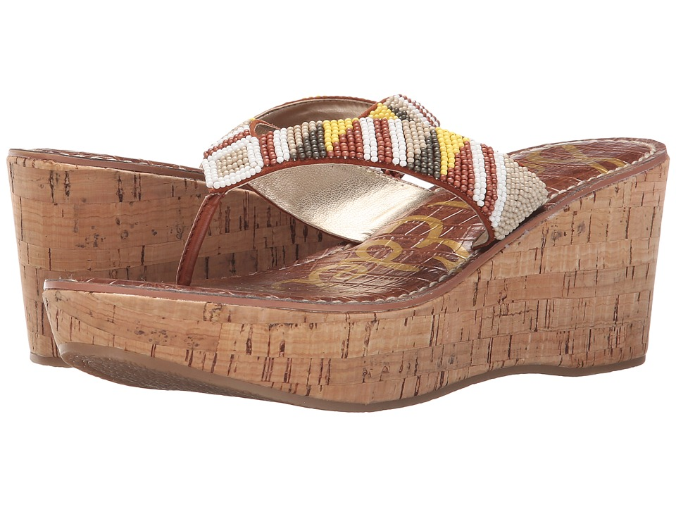Sam Edelman - Rosa (Desert Nude/Ginger Spice Multi Beads) Womens Sandals