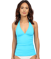 Tommy Bahama - Pearl Solids Halter Cup Long Tankini