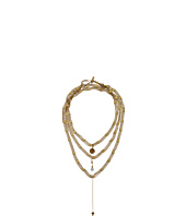 Vanessa Mooney - Schools Out For Summer Triple Wrap Chain Choker Necklace