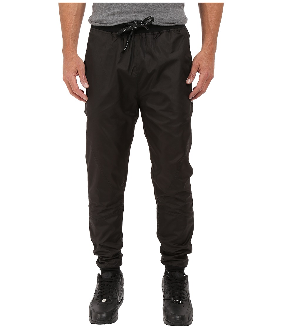 Staple Chromatic Nylon Joggers Black Mens Casual Pants